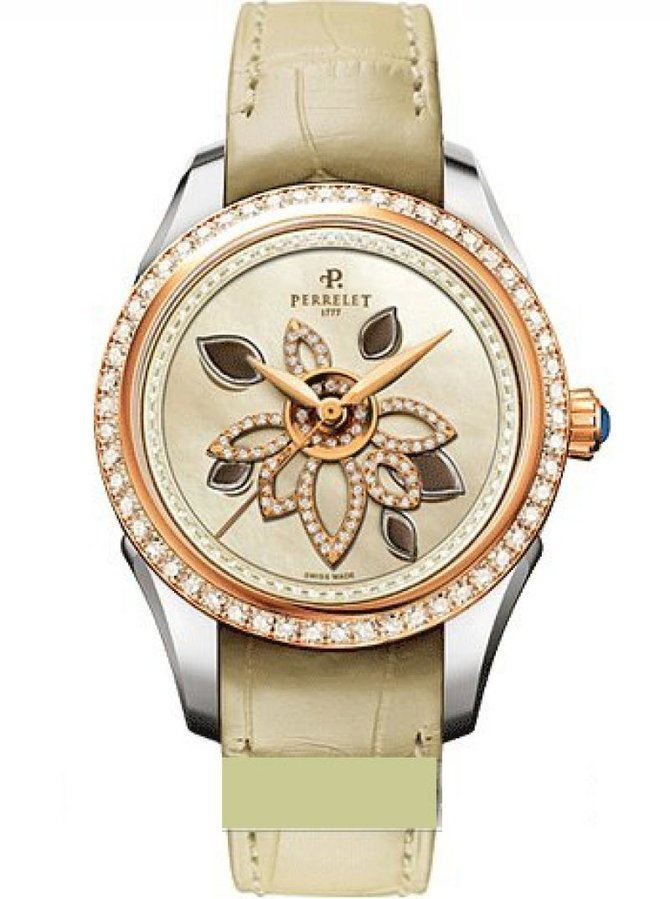 A3016/1 Perrelet Limited Editions Diamond Flower Rare Prestige Edition Specialties
