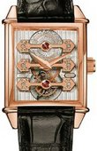 Girard Perregaux Часы Girard Perregaux Vintage 1945 99870-52-000-BA6A Triple Bridge Tourbillon