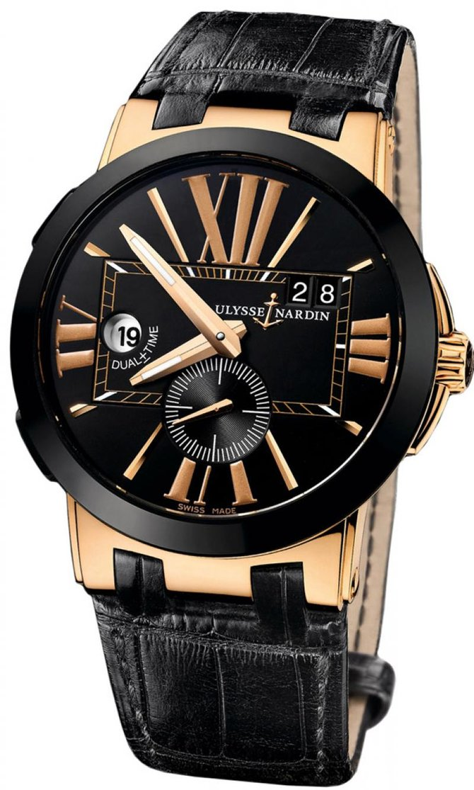246-00/42 Ulysse Nardin Executive Dual Time 43mm Executive Dual Time