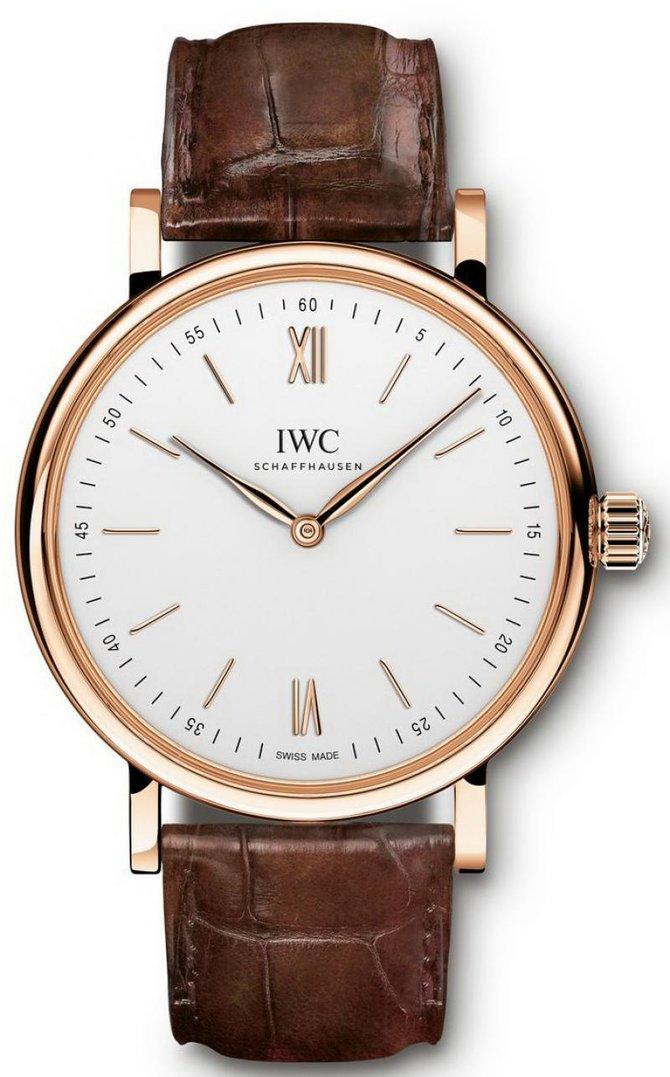 Сколько стоят золотые часы iwc portofino iw356302