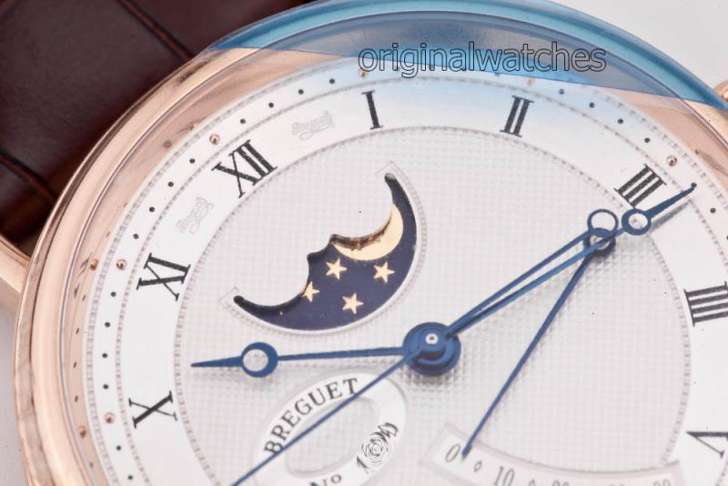 7787BR/12/9V6 Breguet Moon Phase Power Reserve Classique