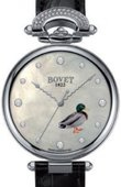 Bovet Chateau De Motiers H32WA079-SD2-LT02 White Gold Miniature Painting Duck