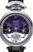 Bovet Fleurier AIRS018 Amadeo 46 Rising Star Triple Time Zone Tourbillon Reversed Hand-Fitting