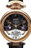 Bovet Fleurier AIRS001 Amadeo 46 Rising Star Triple Time Zone Tourbillon Reversed Hand-Fitting