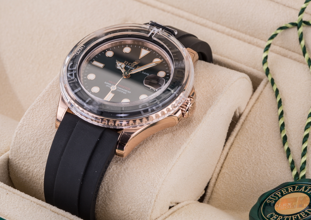 116655 Rolex 40 mm Everose Gold Yacht Master II