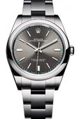 Rolex Oyster Perpetual 114300 grey 39 mm Steel