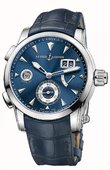 Ulysse Nardin Dual Time 3243-132LE/BQ 42 mm