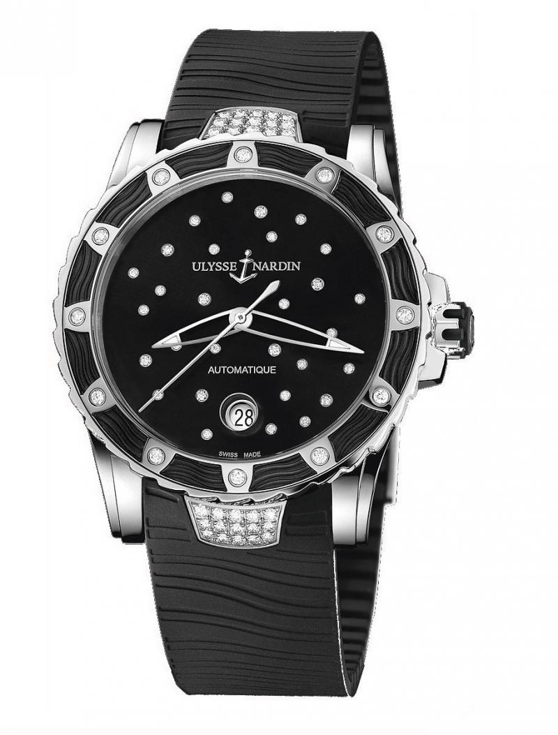 8153-180E-3C/22 Ulysse Nardin Starry Night Lady Diver