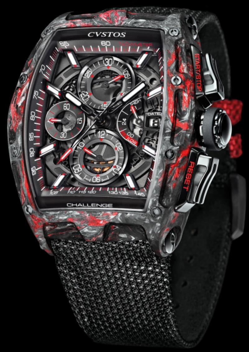Chrono II Black Forged Carbon Honolulu Cvstos Carbon Challenge