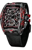 Cvstos Часы Cvstos Challenge Chrono II Black Forged Carbon Honolulu Carbon