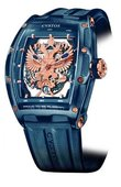 Cvstos Challenge Jet-Liner Blue Steel PVD Proud To Be Russian - Gerard Depardieu Edition