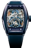 Cvstos Challenge YACHTING TS Blue Hand Wound Tourbillon