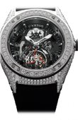 Cvstos Challenge R R50 TS Platinum White Diamonds CVS 2600C Hand Wound Tourbillon