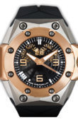 Linde Werdelin Oktopus ROSE GOLD Double Date Ti - RG
