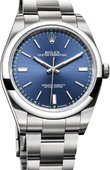 Rolex Oyster Perpetual 114300 blue 39 mm