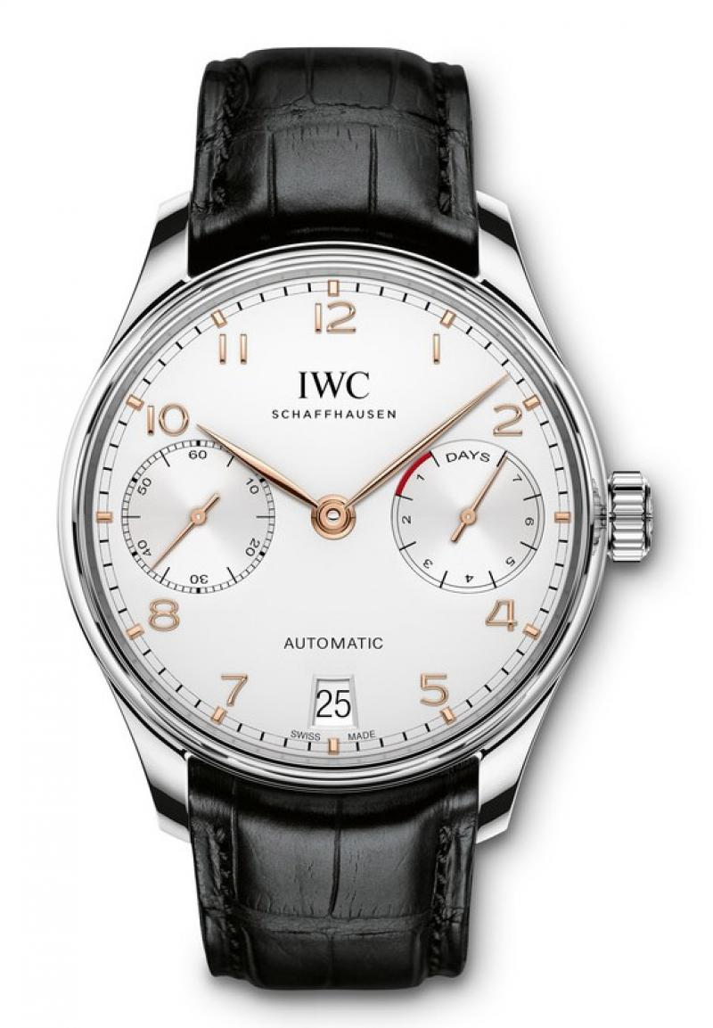 IW500704 IWC Automatic stainless steel 2015 Portuguese