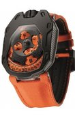 Urwerk Часы Urwerk UR-105 UR-105TA Black Orange Knight