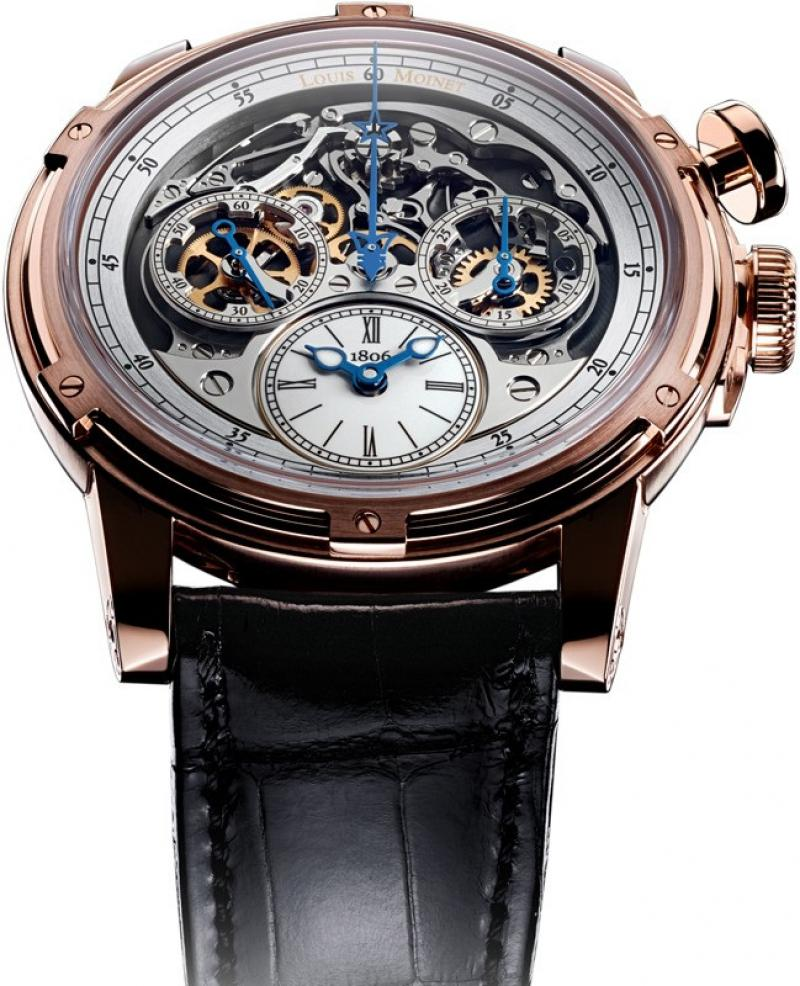 LM-54.50.80 Louis Moinet Memoris Extraordinary Pieces