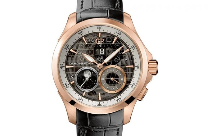 Girard Perregaux 49655-52-232-BB6A WW.TC Traveller Large Date Moon Phases & GMT - фото 4