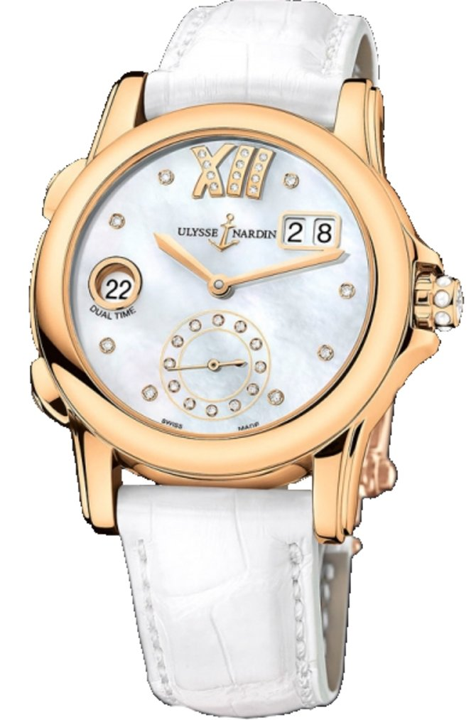 Ulysse Nardin 3346-222/391 Dual Time Ladies Manufacture