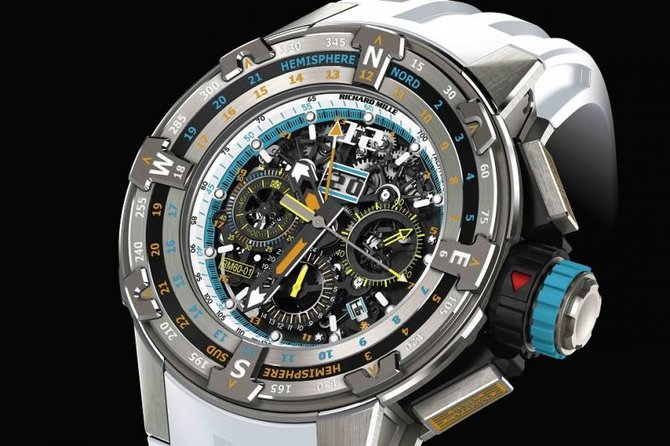 Richard Mille RM 60-01 St-Barths RM Edition Regatta Flyback Chronograph - фото 2
