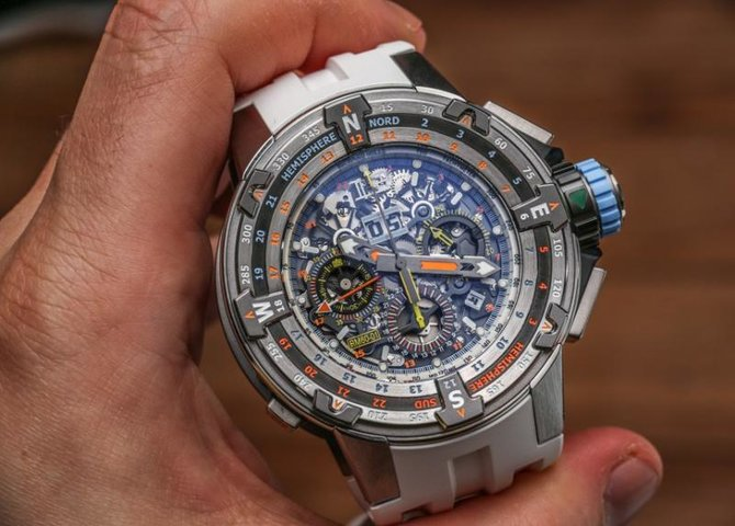 Richard Mille RM 60-01 St-Barths RM Edition Regatta Flyback Chronograph - фото 3