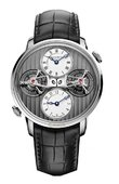 Arnold & Son Часы Arnold & Son Instrument Collection 1DTAW.S01A.C121W Double Tourbillon Escapement Dual Time
