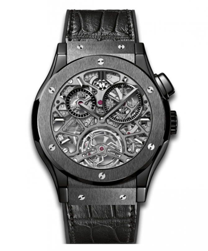 Hublot 506.CM.0140.LR Classic Fusion Tourbillon Skeleton All Black - фото 1