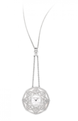 Harry Winston Часы Harry Winston High Jewelry HJTQHM48WW001 The Jeweler's Secret Pendant by Harry Winston