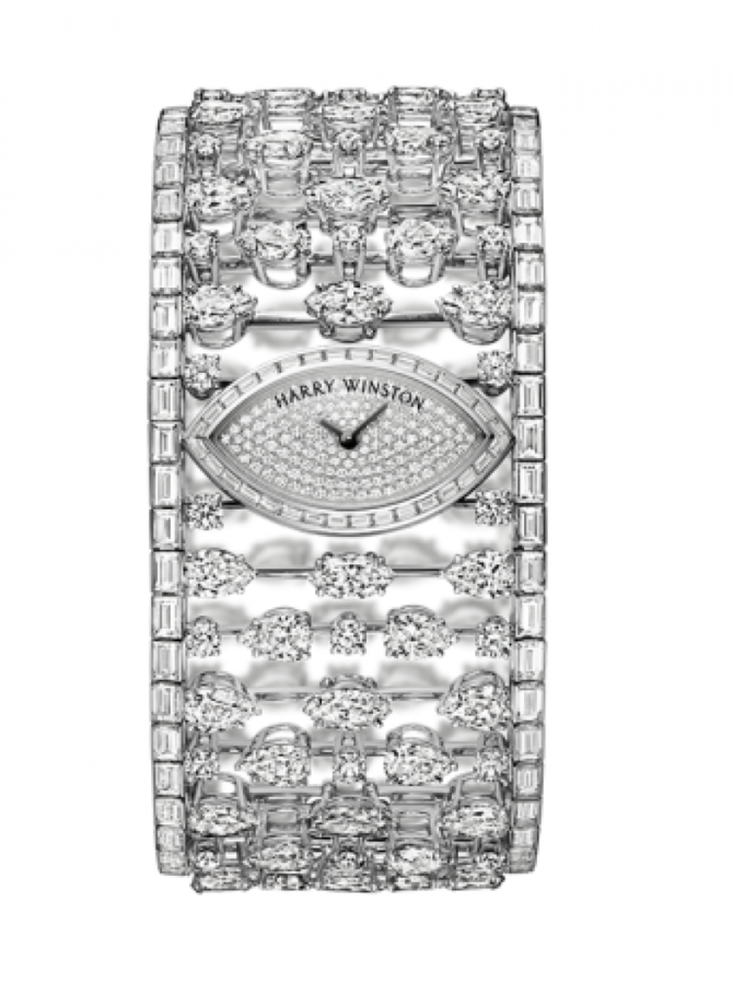 Harry Winston HJTQHM30PP006 High Jewelry Mrs. Winston High Jewelry Timepiece