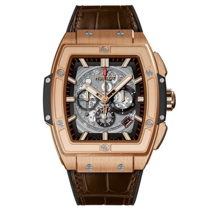 601.OX.0183.LR Hublot Red gold Skeleton Chronograph Spirit of Big Bang