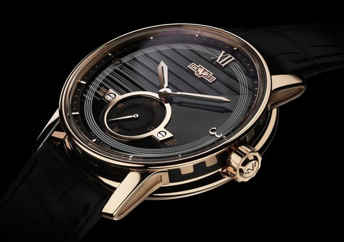 DeWitt AC.PTS.001 Academia Small Second Rose gold - фото 3