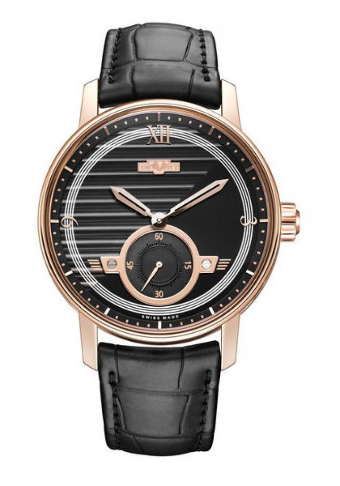 DeWitt AC.PTS.001 Academia Small Second Rose gold - фото 1