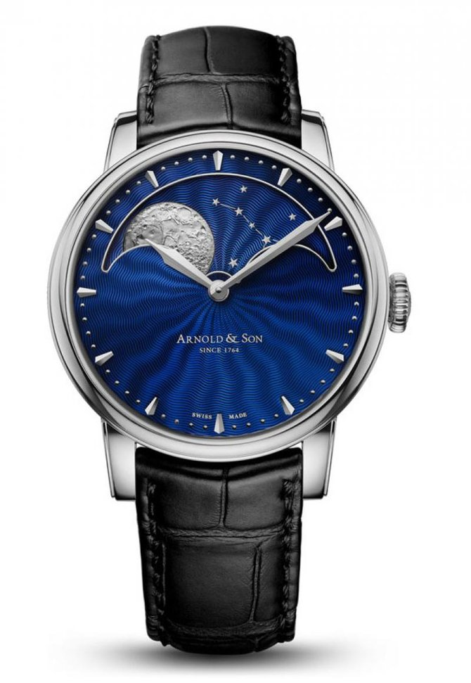 "Arnold & Son 1GLAS.U02A.C122S Royal Collection HM Perpetual Moon ""Midnight Blue"" - фото 1"