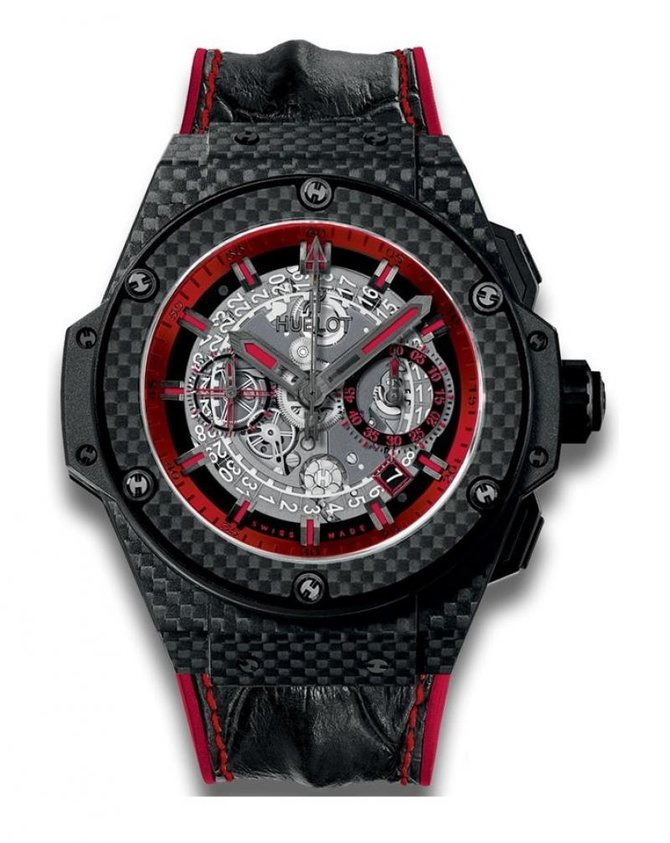 Hublot 701.QX.0113.HR King Power Unico Carbon and Red