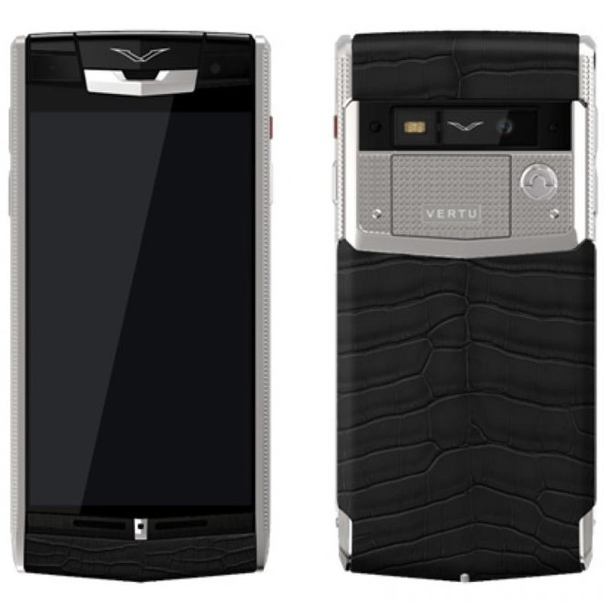 Vertu Clous De Paris Signature Touch Titanium - фото 2