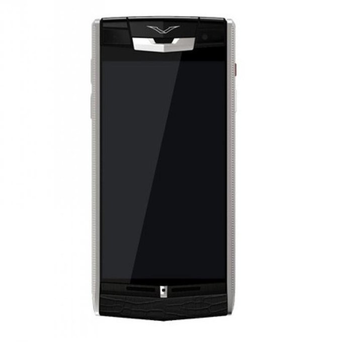 Vertu Clous De Paris Signature Touch Titanium - фото 1