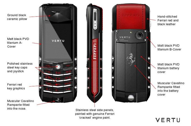 Vertu Ferrari GT Signature Ascent Limited Edition - фото 3