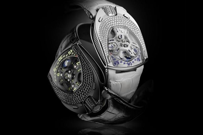 UR-106 Lotus Urwerk First Female Model UR-105