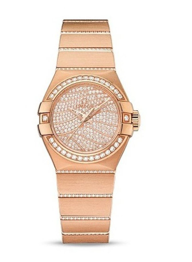 Omega 123.55.27.20.55.006 Constellation Ladies Co-Axial Automatic Date 27 mm