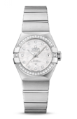 Omega Constellation Ladies 123.15.27.20.55.002 Co-Axial Automatic Date 27 mm