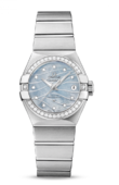 Omega Constellation Ladies 123.15.27.20.57.001 Co-Axial Automatic Date 27 mm