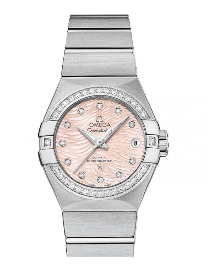 Omega 123.15.27.20.57.002 Constellation Ladies Co-Axial Automatic Date 27 mm