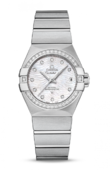 Omega Constellation Ladies 123.15.27.20.55.003 Co-Axial Automatic Date 27 mm