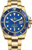 Rolex Submariner M116618LB-0001 Date Yellow Gold