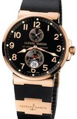 Ulysse Nardin Часы Ulysse Nardin Maxi Marine Chronometer 41mm 266-66-3/62 Rose Gold