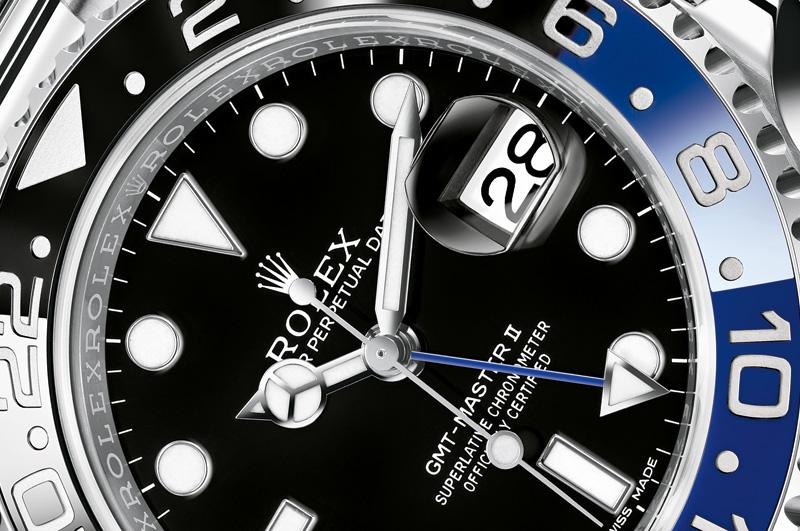 116710 BLNR Rolex 40mm Steel GMT-Master II