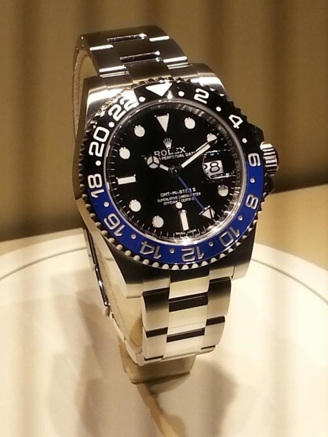 Rolex 116710 BLNR GMT-Master II 40mm Steel - фото 6