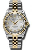 Rolex Datejust 116233 scaj Steel and Yellow Gold