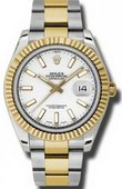 Rolex Datejust 116333 wio Steel and Yellow Gold